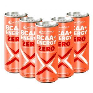 Ironmaxx BCAA + Energy cans – Box of 24