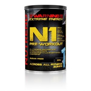 Nutrend N1 Pre-Workout – Red Orange – 510g