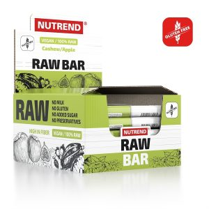 Nutrend Raw Bars – Box of 20