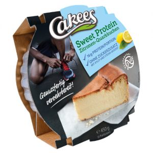 Cakees Sweet Protein Cheesecake