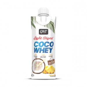 QNT Light Digest Protein Coco Whey – Individual – 330ml