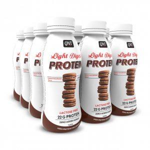 QNT Light Digest Protein Shake – box of 12 – 310ml