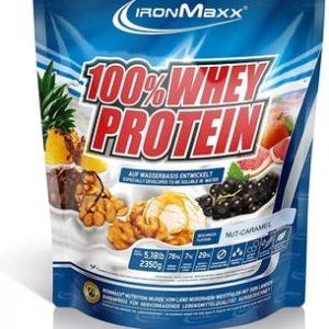 Ironmaxx 100% Whey Protein Nut Caramel – 2350g