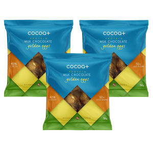 Cocoa+ Golden Protein Milk Chocolate 56g