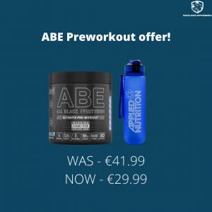 Applied Nutrition ABE Preworkout + Lifestyle Bottle