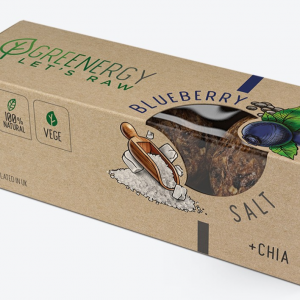 Greenergy Raw Balls Blueberry, Salt & Chia