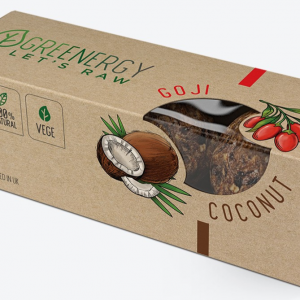 Greenergy Raw Energy Balls Coconut & Goji