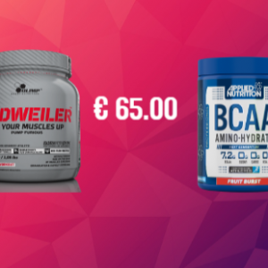 Olimp Redweiler + Applied Nutrition BCAA Amino Hydrate