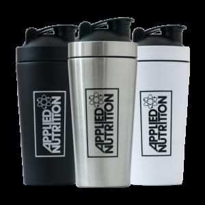 Applied Nutrition Metal Shaker Blue