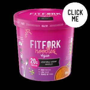 FitFork Vegan Vegetable Korma Noodles