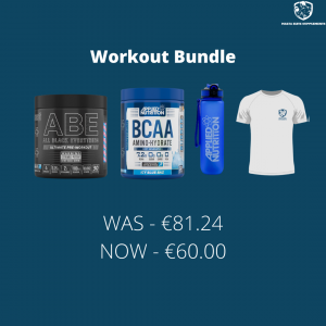 Applied Nutrition ABE Pre Workout + Applied Nutrition BCAA Amino Hydrate + Lifestyle Bottle + Training T-Shirt