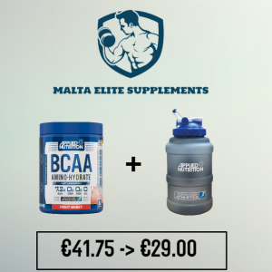 Applied Nutrition BCAA Amino Hydrate + Applied Nutrition Water Jug