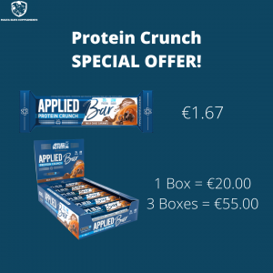 Applied Nutrition Protein Crunch 60g – 3 BOXES OFFER!