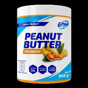 6PAK Nutrition Peanut Butter Crunchy 908g
