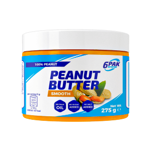 6PAK Nutrition Peanut Butter Smooth 275g