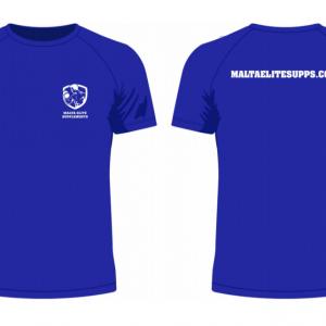 Malta Elite Supplements T-Shirt – Blue