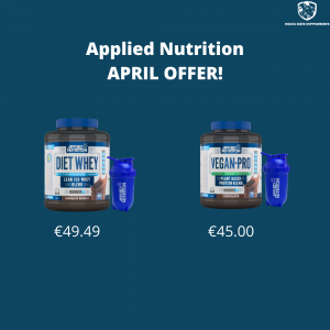Applied Nutrition April Offer – FREE Bullet Shaker