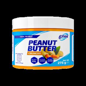 6PAK Nutrition Peanut Butter Crunchy 275g