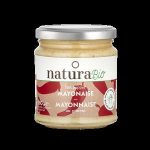 Natura Bio Mayonnaise Hot Pepper – 160g